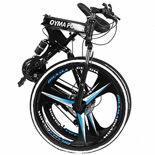 UROSA High Carbon Steel 26 Inch Folding Mountain Bike