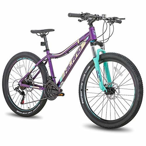 Hiland 26/27.5 Inch Aluminum Mountain Bike for Women