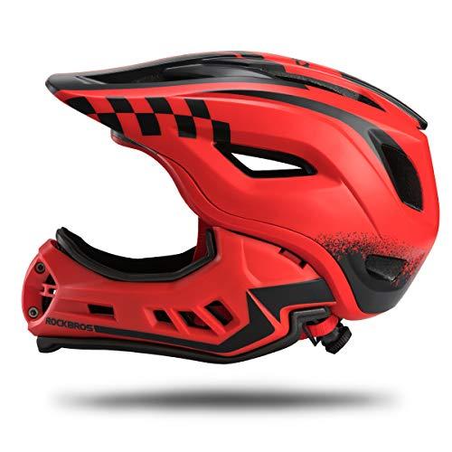 ROCK BROS Kids Full Face Mountain Bike Helmet