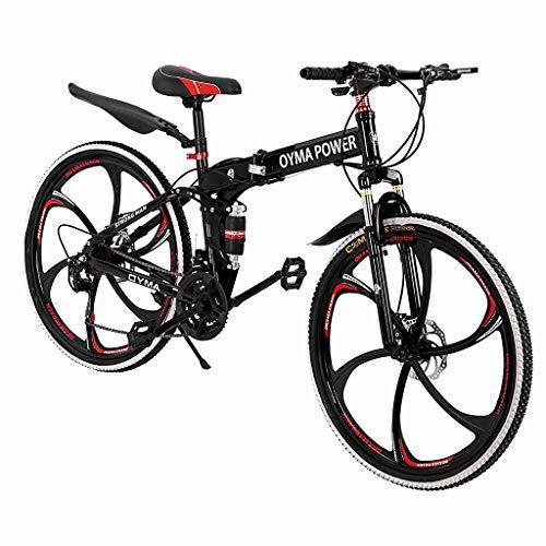 Ewdhsau Folding Mountain Bike