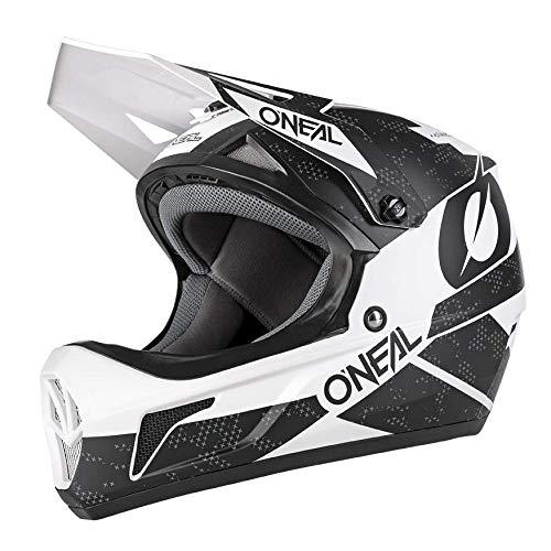 O'Neal Sonus Deft Mountain Bike Helmet Black And White MD